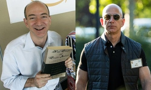 Celebrities on TRT Jeff Bezos
