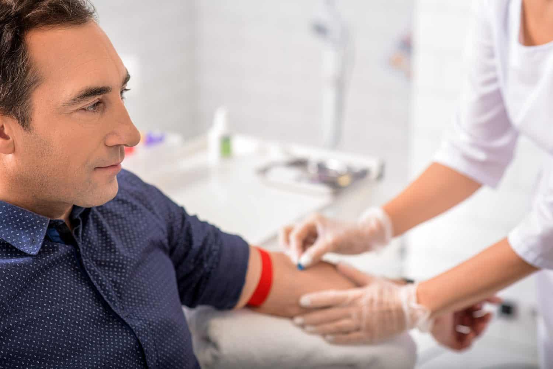 Clinic Visit Venous Blood Test Optimale