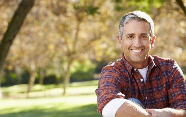 Male menopause symptoms man